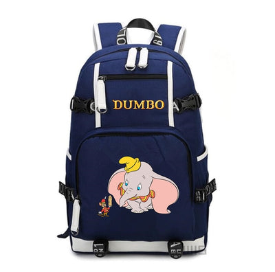 Dumbo printing School Canvas Backpack