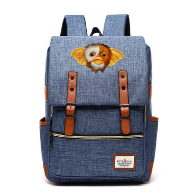 Gremlins  Gizmo Backpack Canvas School Bags