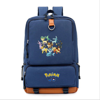 Pokemon go pikachu printing Backpack for teenagers
