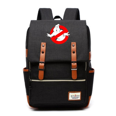 Ghostbusters Canvas School Backpack