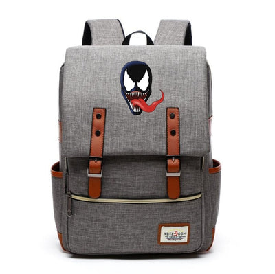 Marvel Venom Edward Brock printing Canvas  Backpack
