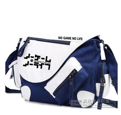 No Game No Life I Love Human Printing Cosplay Shoulder Bag