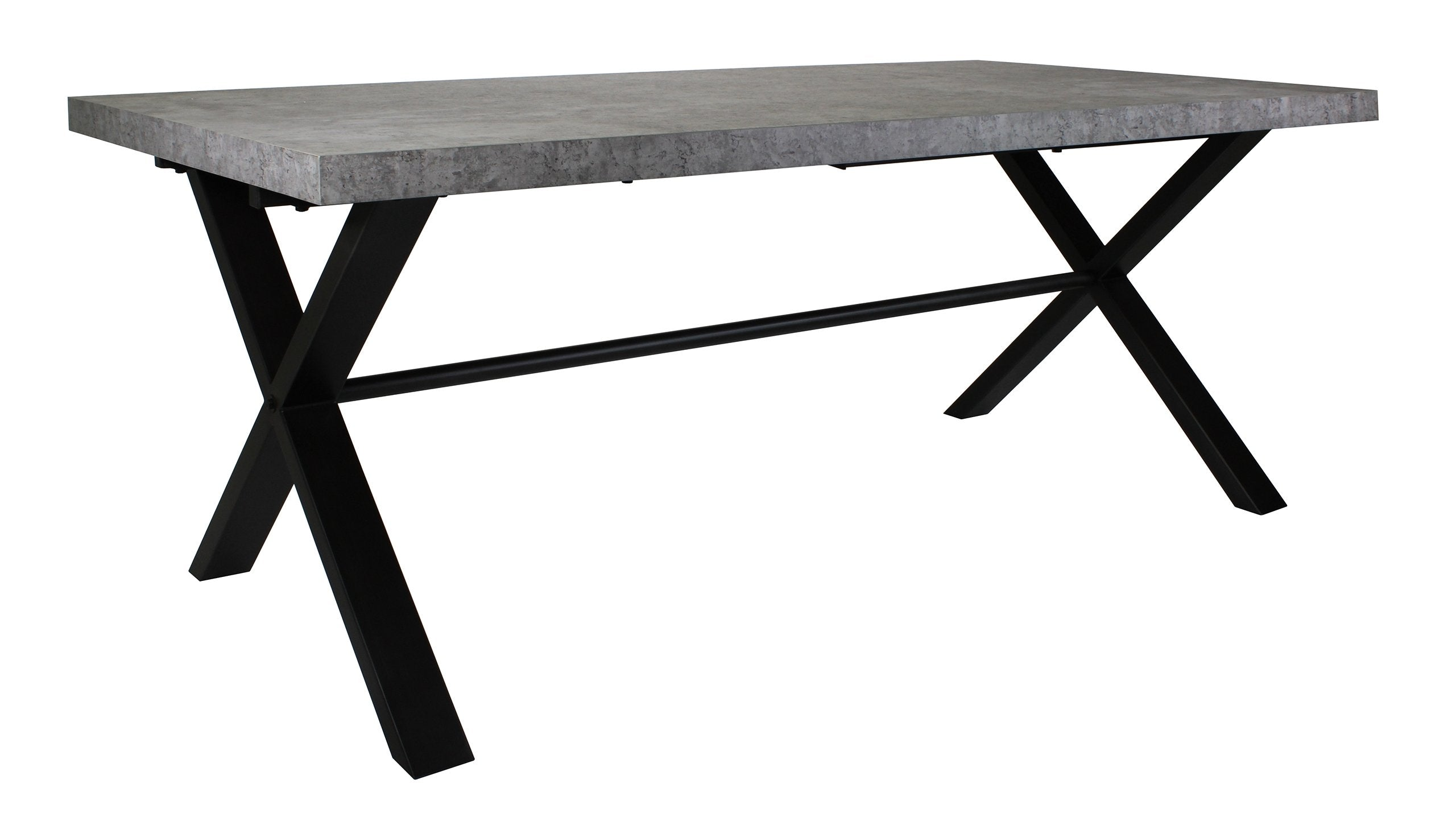 Brooklyn Concrete Large Dining Table - AHF Furniture & Carpets