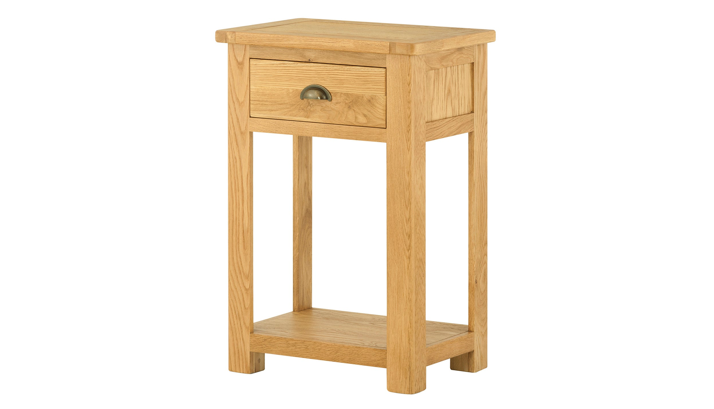 Arlington Oak 1 Drawer Console Table