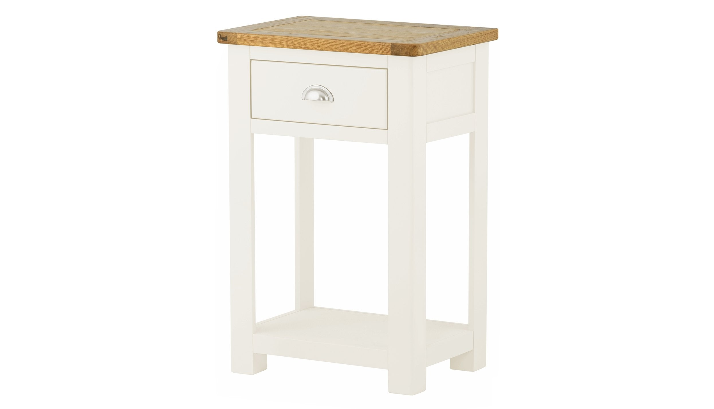 Arlington Two Tone 1 Drawer Console Table - AHF Furniture & Carpets