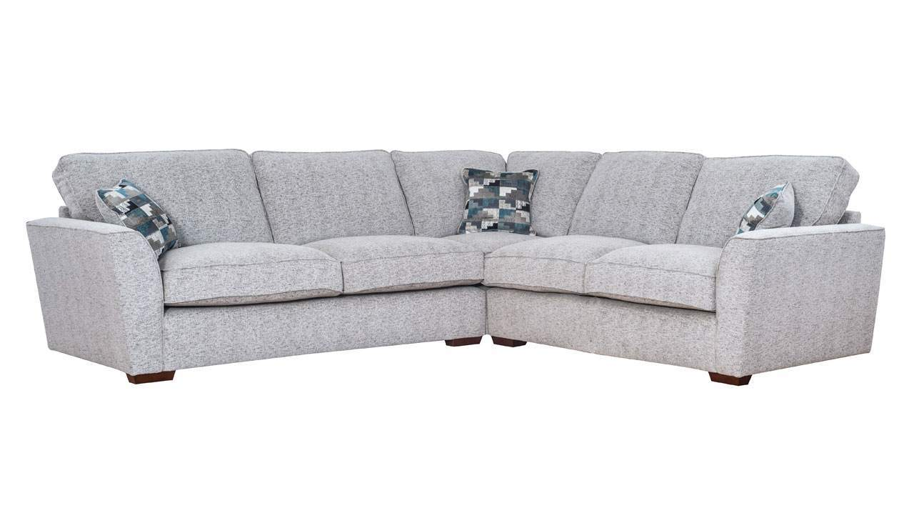 Hepburn Standard Back Large Corner Sofa - AHF Furniture & Carpets