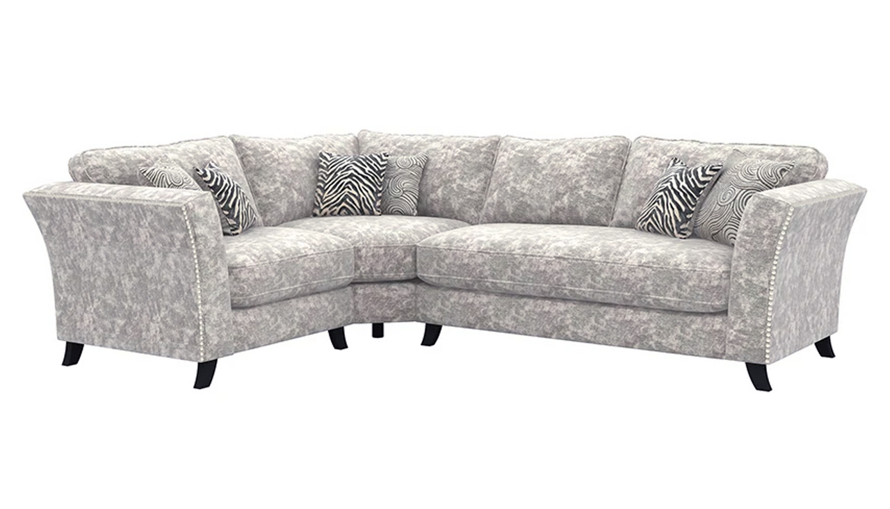 Rendezvous Right Hand Facing Standard Back Corner Sofa