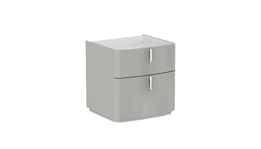 Kiera 2 Drawer Nightstand