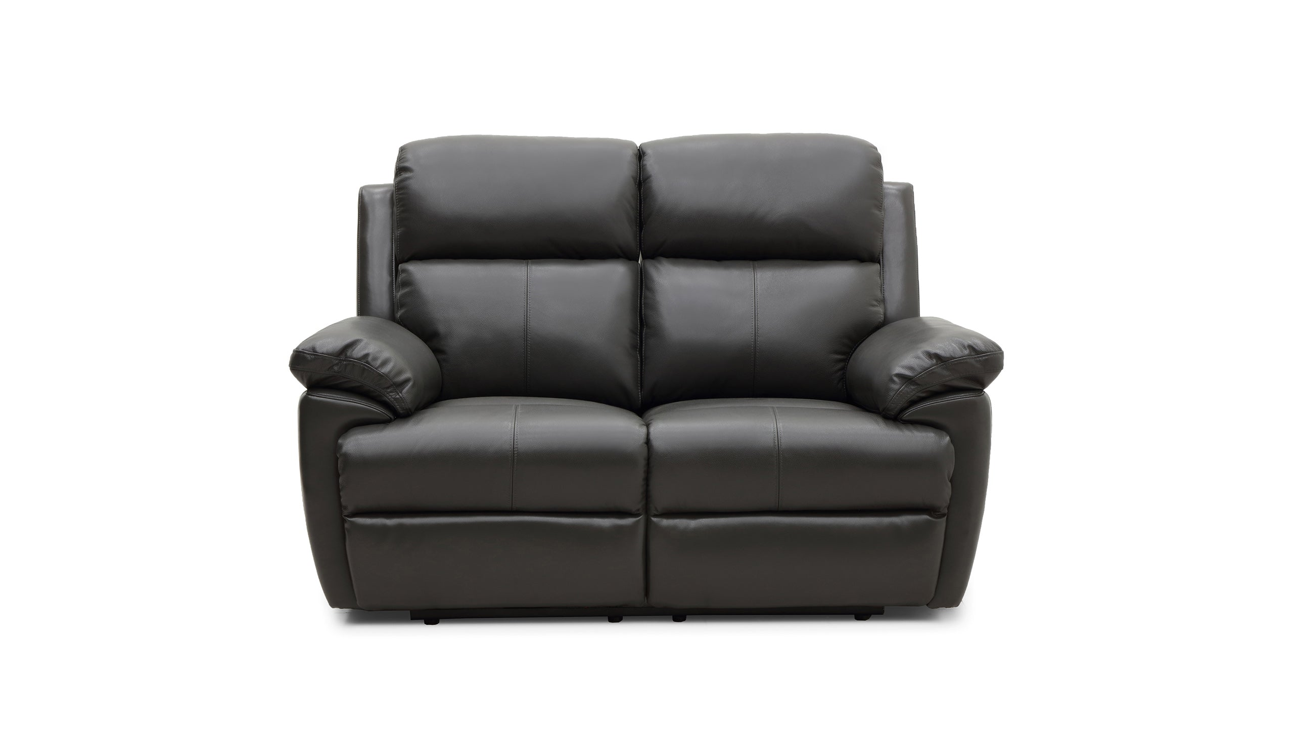 Blair 2 Seater Manual Recliner Sofa in Leather