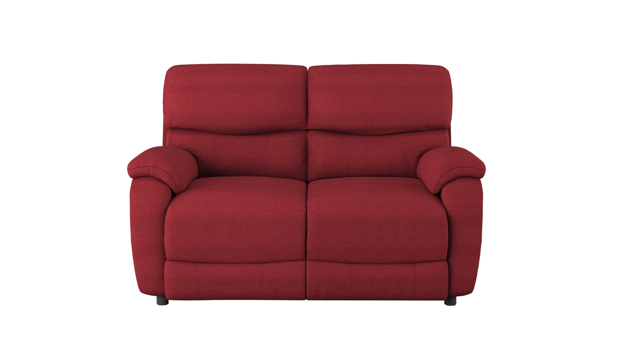 Evelyn 2 Seater Power Recliner Sofa in fabric
