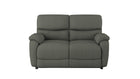 Evelyn 2 Seater Power Recliner Sofa in fabric - AHF Furniture & Carpets