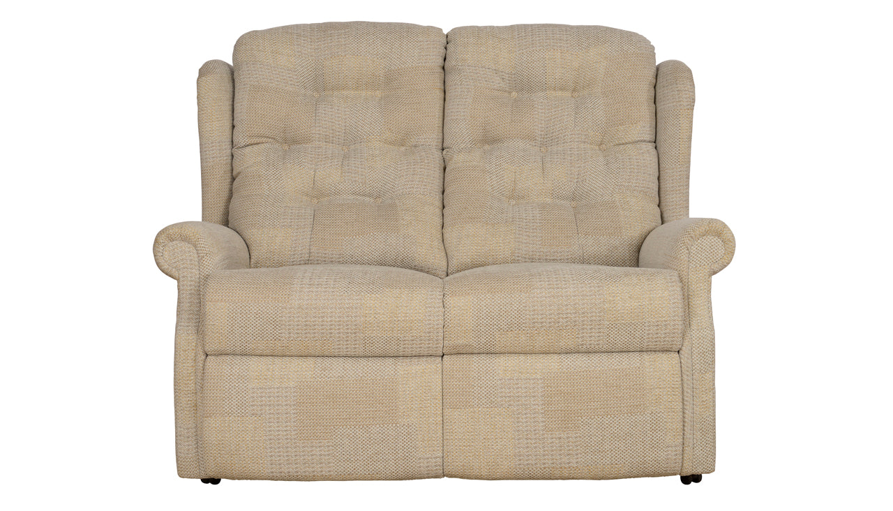 Celebrity Woburn 2 seater recliner sofa with lever