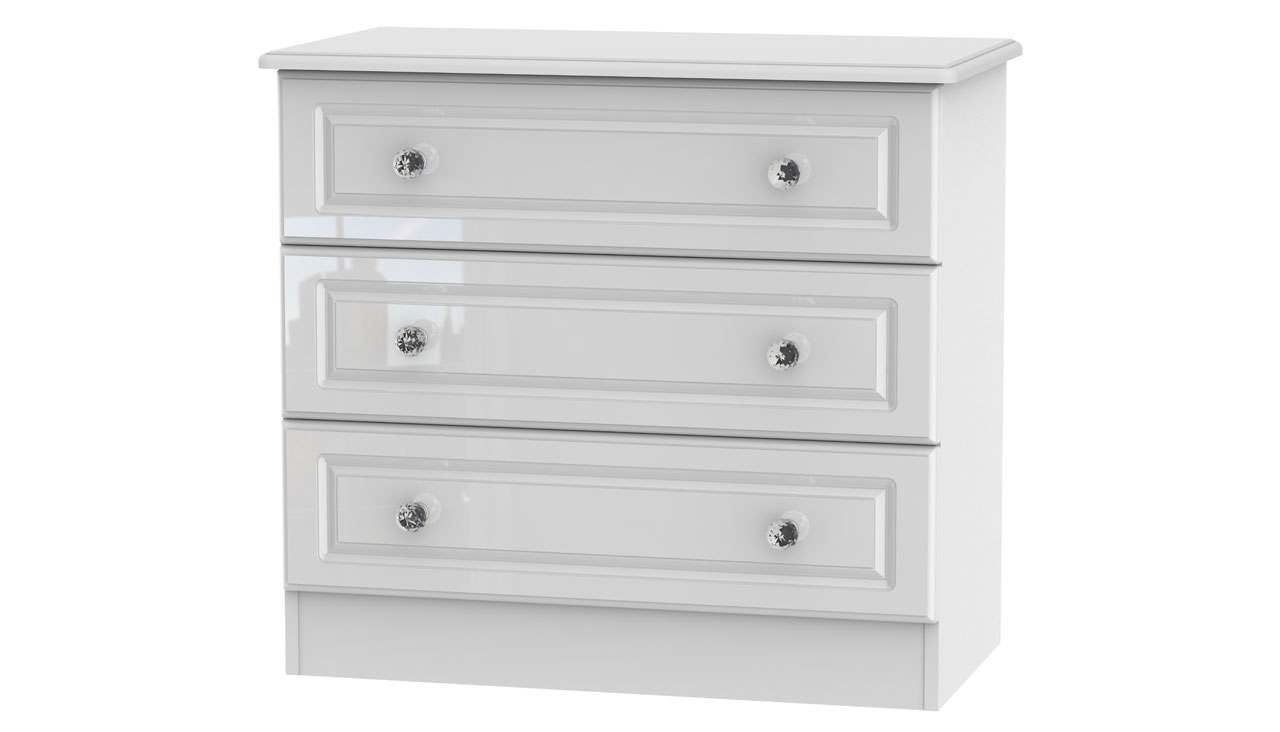 Ferndale 3 Drawer Chest - AHF Furniture & Carpets