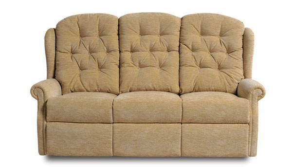 Celebrity Woburn 3 seater recliner sofa with lever - AHF Furniture & Carpets