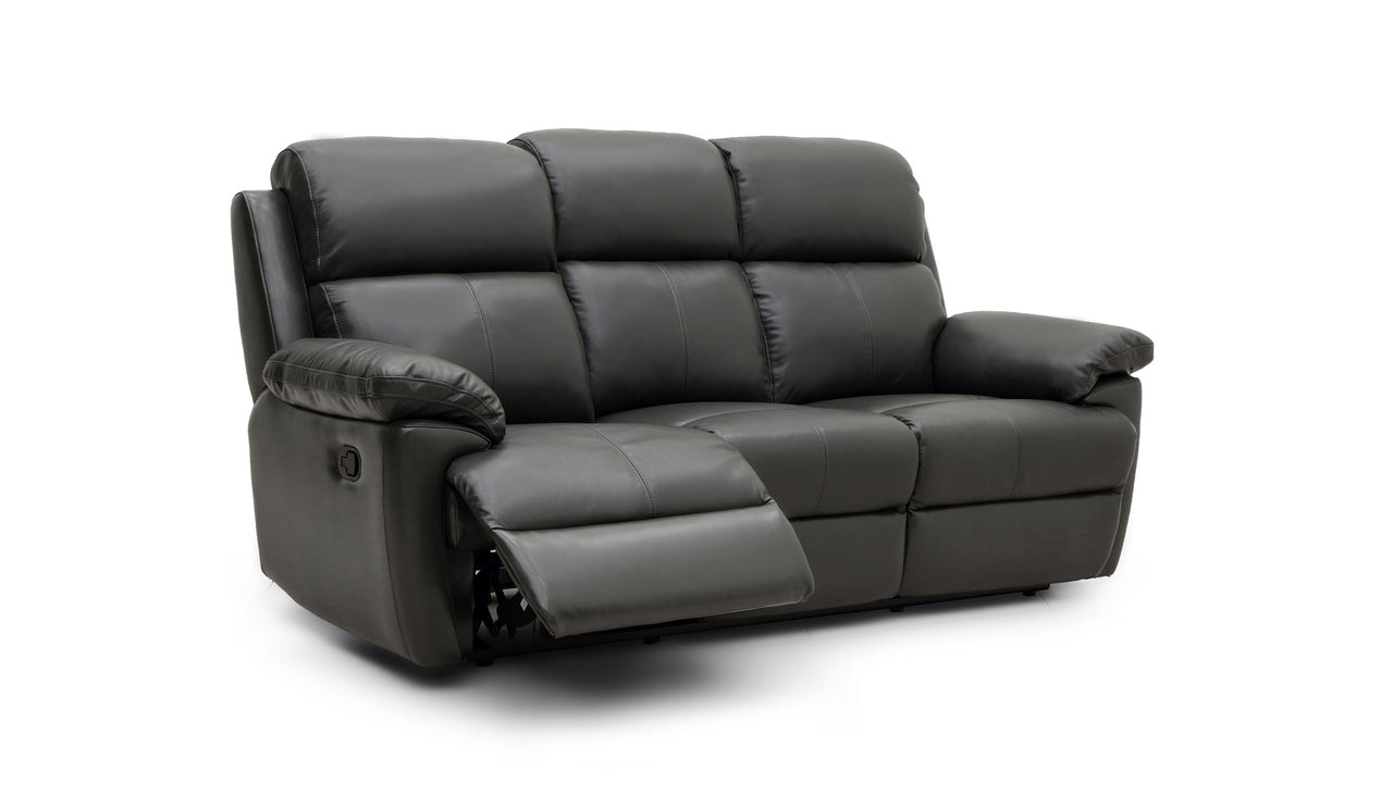 Blair 3 Seater Power Recliner Sofa with Power Headrests