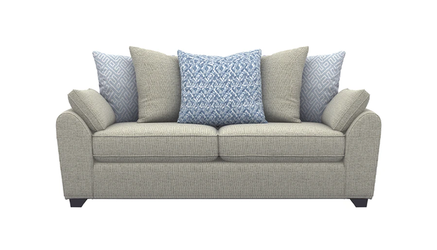 Zara 3 Seater Scatter Back Sofa