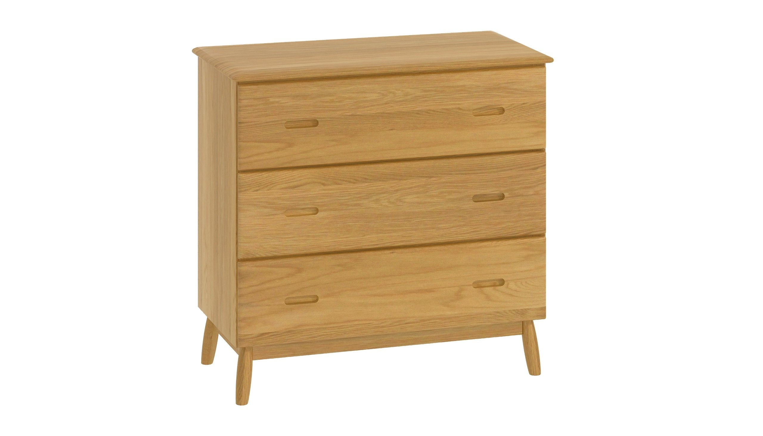 Copenhagen 3 Drawer Chest - AHF Furniture & Carpets