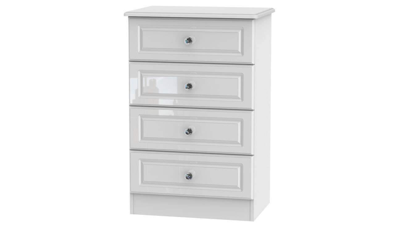 Ferndale 4 Drawer Midi Chest - AHF Furniture & Carpets