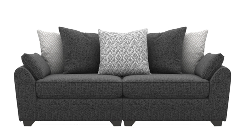Zara 4 Seater Split Scatter Back Sofa