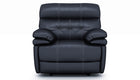 Corsica Recliner Chair With Adjustable Headrest in Leather - AHF Furniture & Carpets