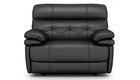 Corsica Power Recliner Love Seat with Power Headrest in Leather - AHF Furniture & Carpets