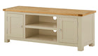 Arlington Two Tone Large TV Unit - AHF Furniture & Carpets