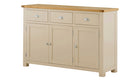 Arlington Two Tone Large Sideboard - AHF Furniture & Carpets