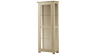Arlington Two Tone Display Cabinet - AHF Furniture & Carpets