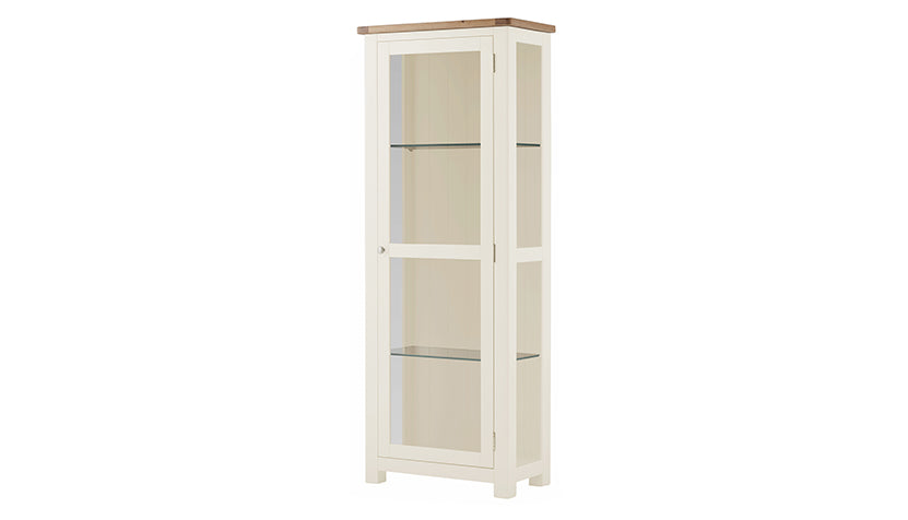 Arlington Two Tone Display Cabinet