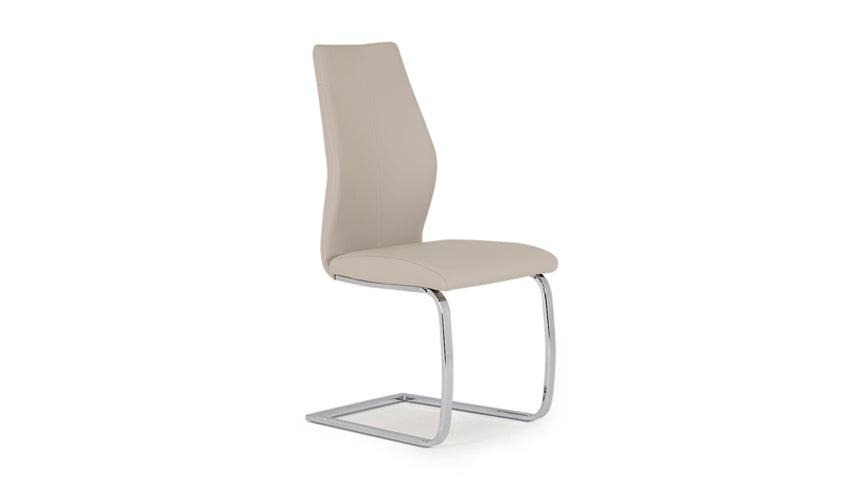 Stockholm Dining Chair with Stainless Steel Legs
