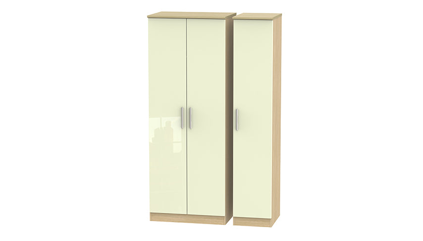 Burnham Tall 3 Door Wardrobe