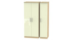 Burnham triple wardrobe - AHF Furniture & Carpets