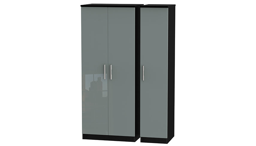 Burnham triple wardrobe