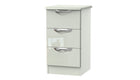Moda 3 Drawer Bedside Chest - AHF Furniture & Carpets