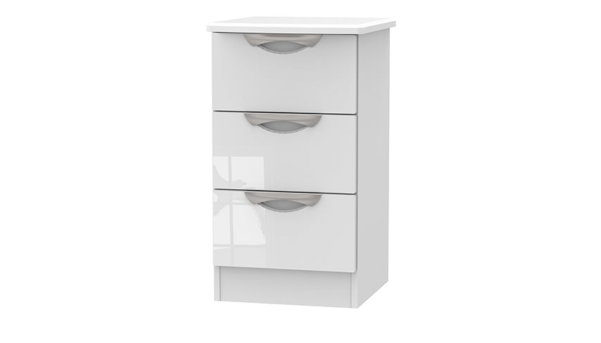 Moda 3 Drawer Bedside Chest