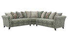 Rendezvous Large Scatter Back Corner Sofa - AHF Furniture & Carpets