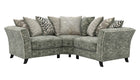 Rendezvous Small Scatter Back Corner Sofa - AHF Furniture & Carpets