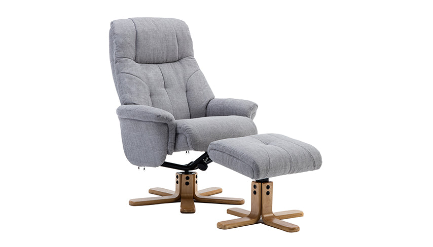 Dubai Swivel Chair and Stool