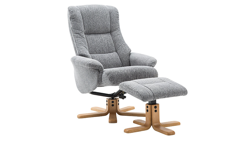 Florida Swivel Chair and Stool
