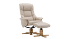 Florida Swivel Chair and Stool - AHF Furniture & Carpets