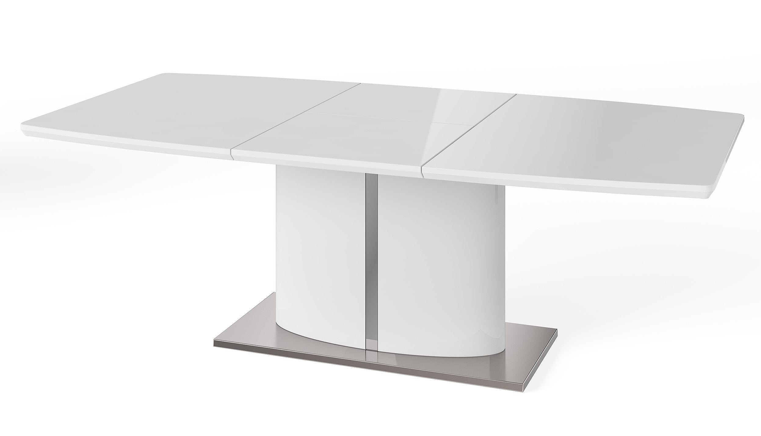 Osaka White Extending Dining Table - AHF Furniture & Carpets