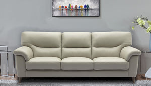 Aiden 3 Seater Sofa in Leather