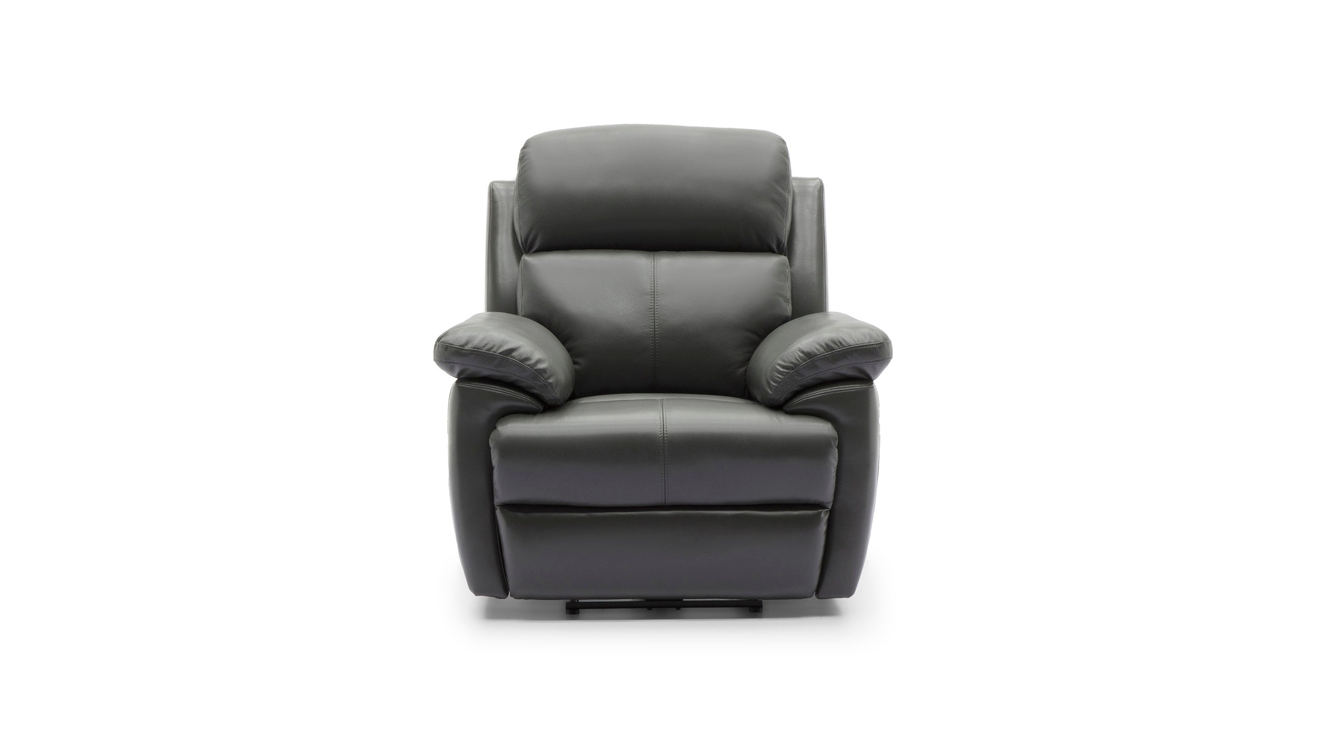 Blair Manual Recliner Armchair in Leather