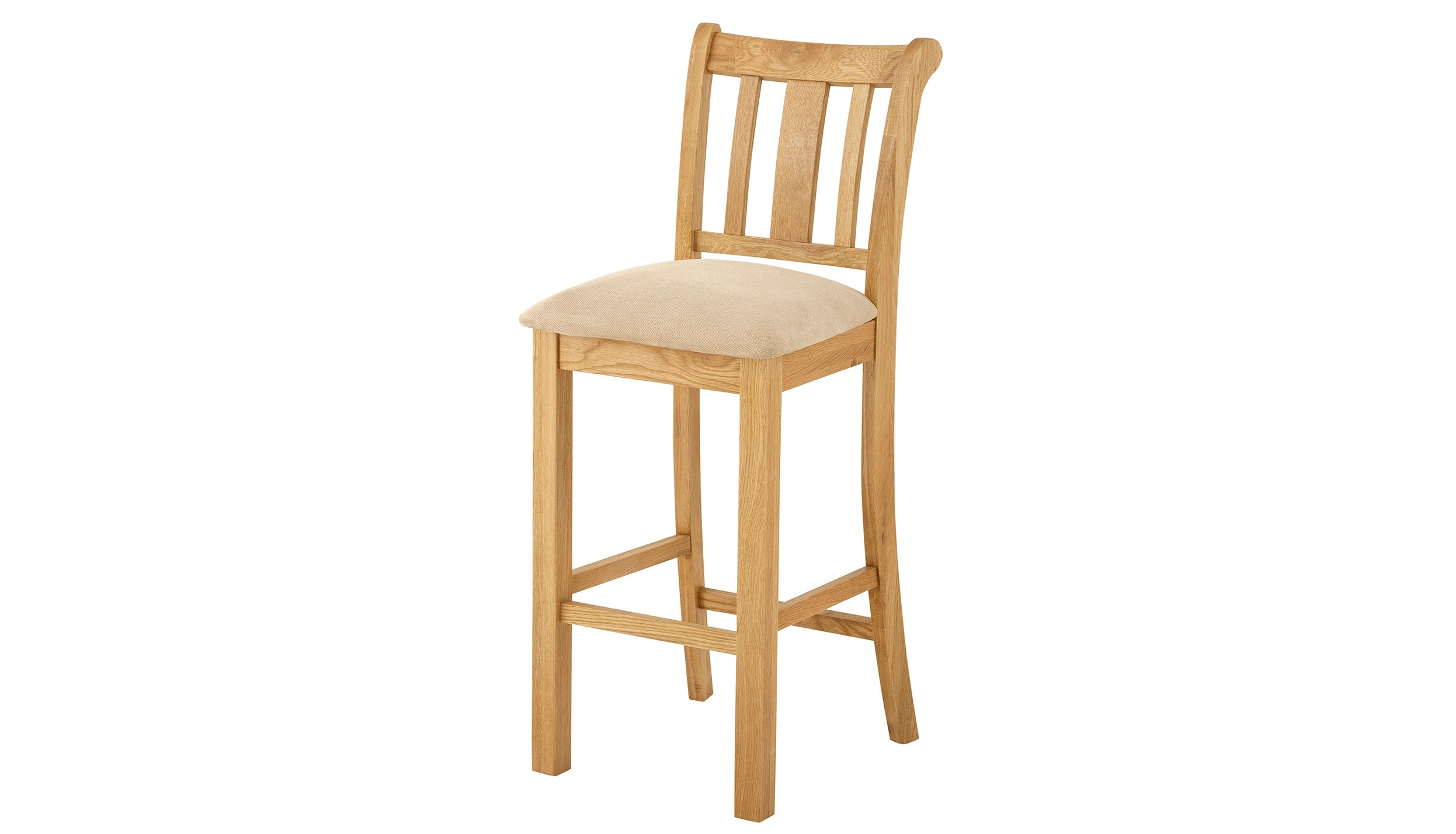 Arlington Oak Bar Stool