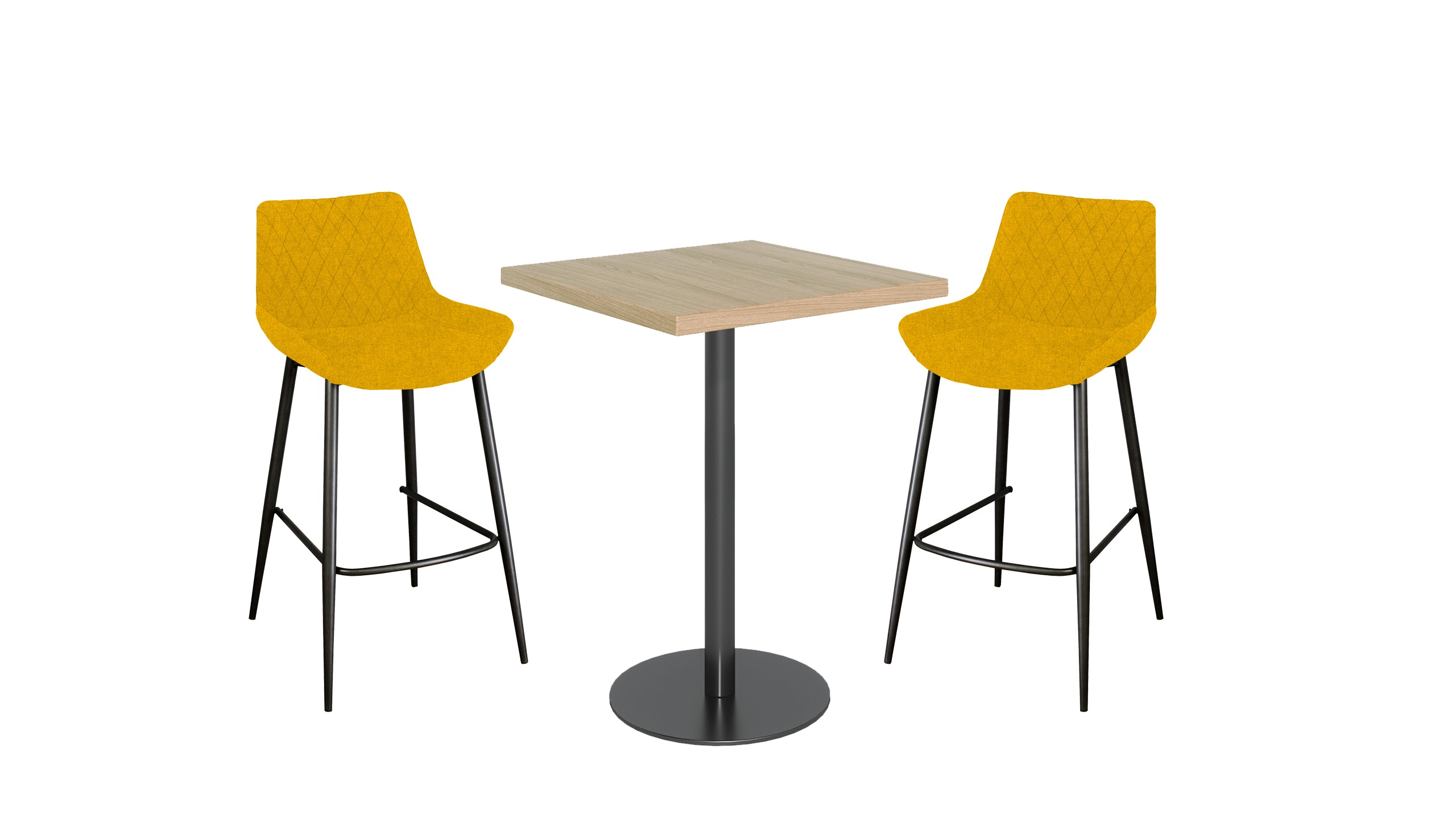Brooklyn Oak Bar Table and Bar Stools
