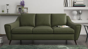 Betty 3 Seater Sofa in Leather