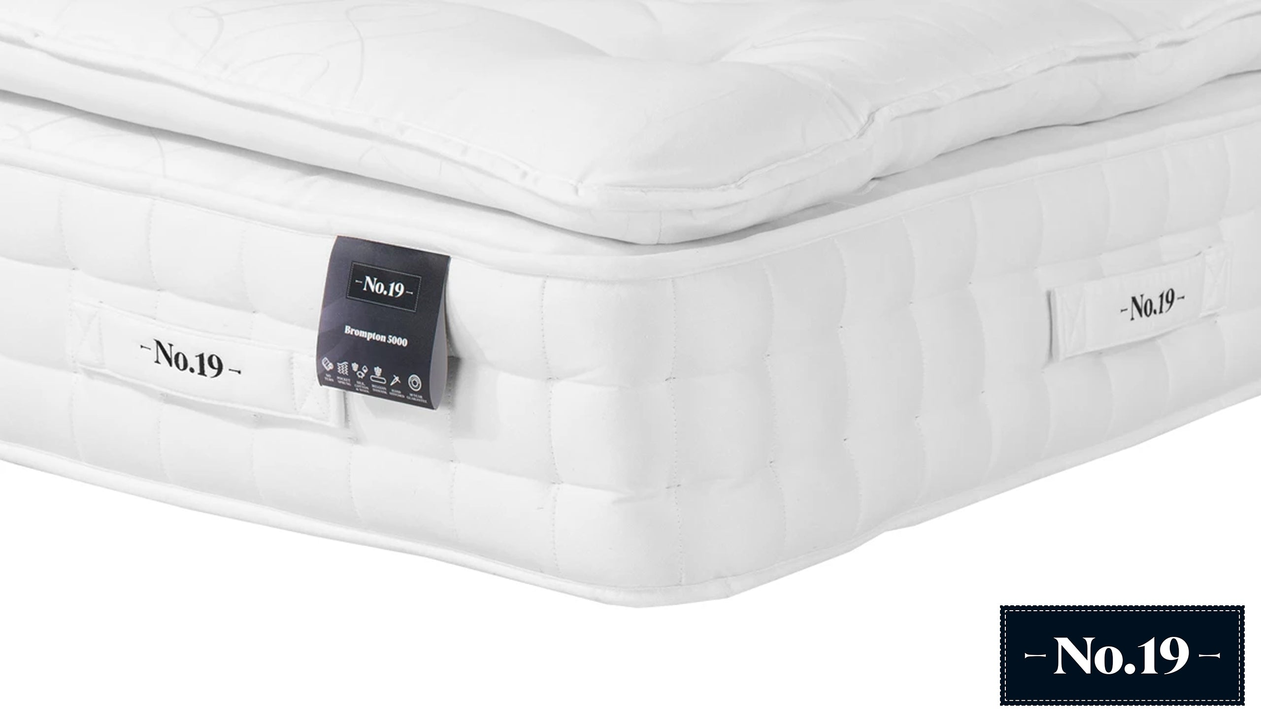 Brompton Pillowtop 5000 Mattress - AHF Furniture & Carpets