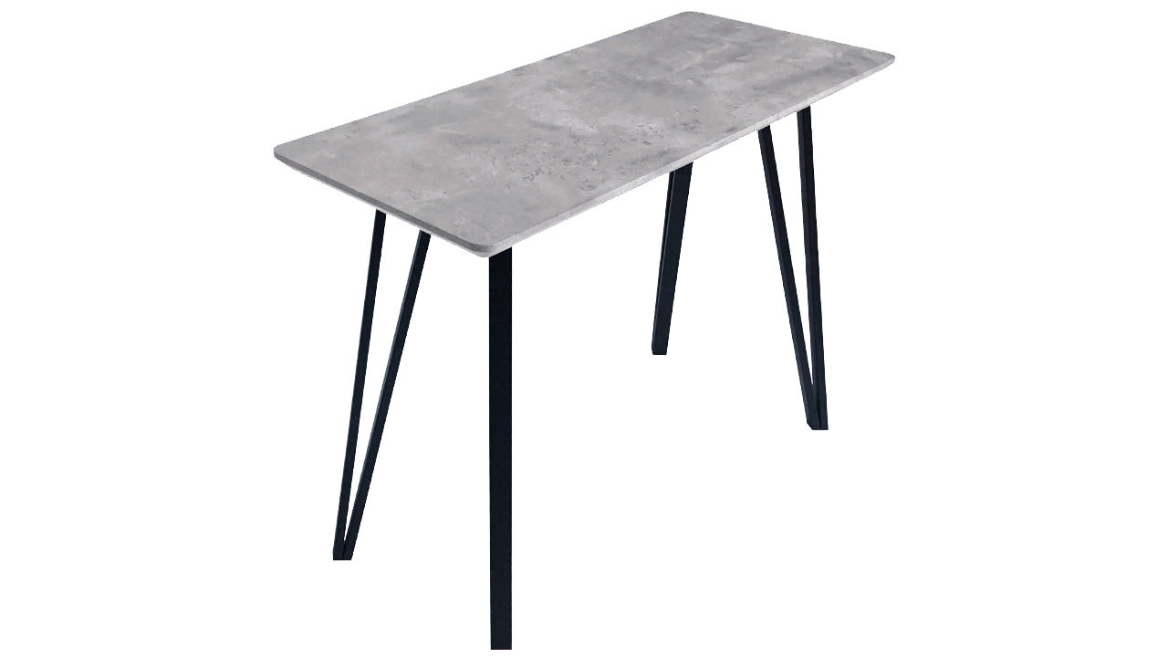 Tetro Concrete Effect Console Table