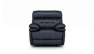 Corsica Power Recliner Chair With Adjustable Headrest in Leather
