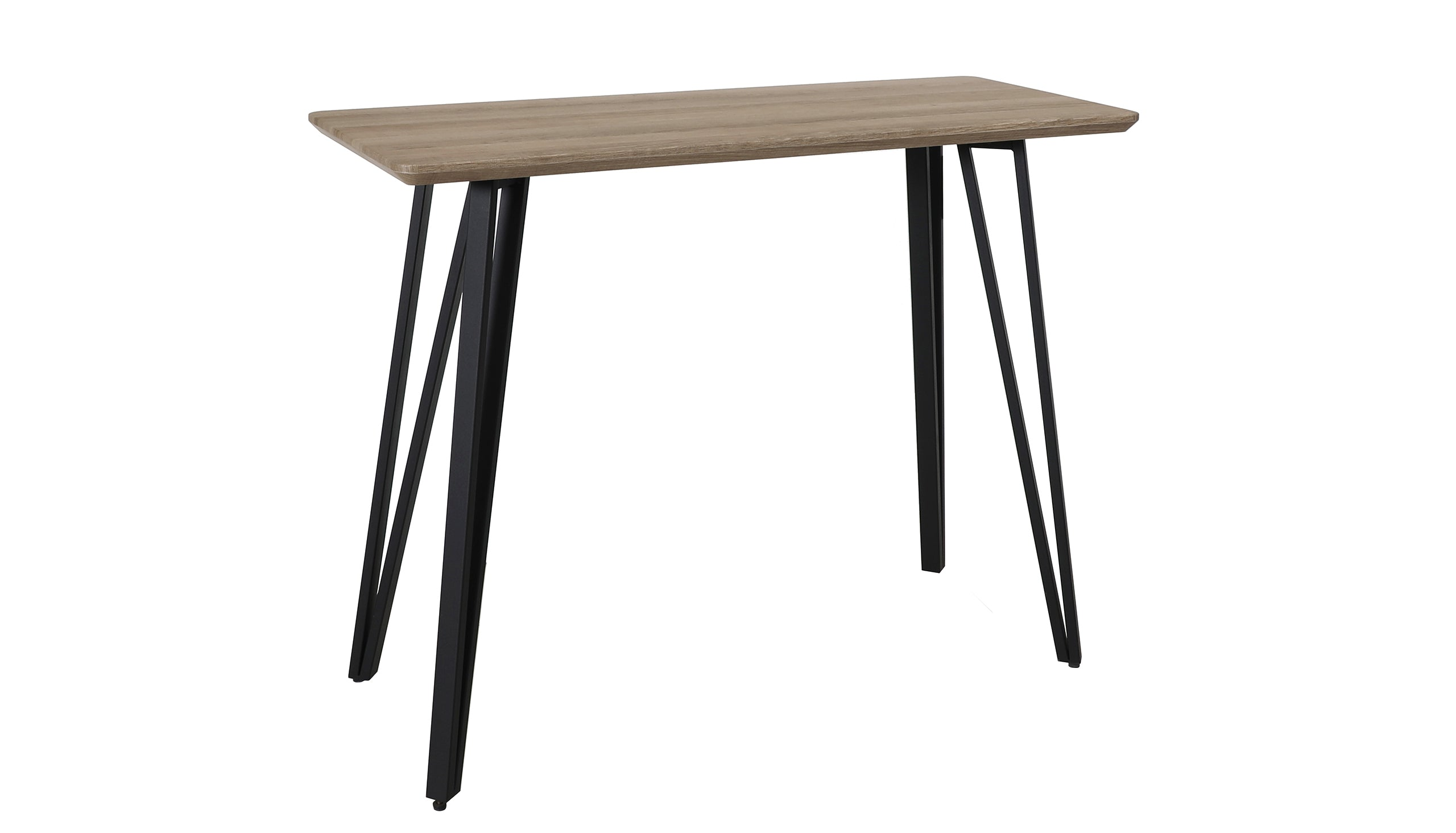 Tetro Grey Wood Effect Bar Table